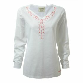 Rayna Long Sleeved Top Optic White