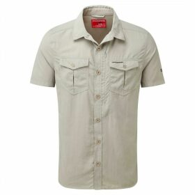 NosiLife Adventure Short Sleeved Shirt Parchment