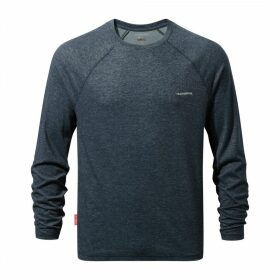NosiLife Bayame Long Sleeved T-Shirt Soft Navy Marl