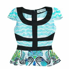 Allora - Luxury Superfine Merino Swing Top Ink
