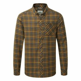 Kearney Long Sleeved Check Shirt Dirty Olive