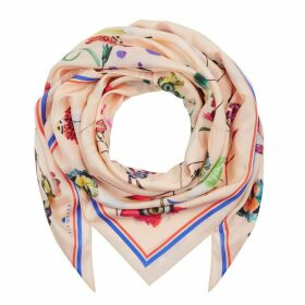 Klements - Square Scarf in Floral Explosion Print