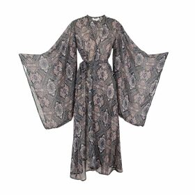 IN. NO - Norma Black Animal Print Knit