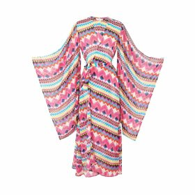 IN. NO - Army Opera Tulle Layered Sweater
