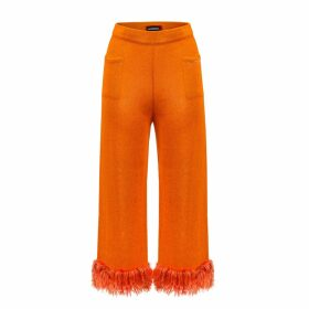 IN. NO - Pink Opera Tulle Layered Sweater