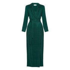 UNDRESS - Alya Sacramento Green Maxi Brazer Dress