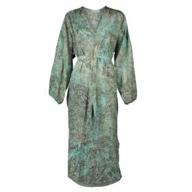 IN. NO - Coral Opera Tulle Layered Sweater