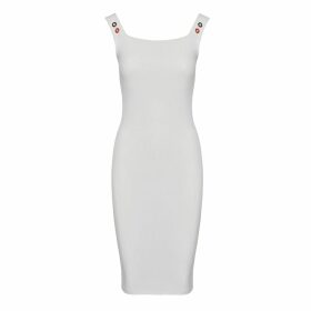 IN. NO - Red Brittney Organza Layered Hoodie