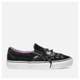 Vans X The Nightmare Before Christmas's Haunted Toys Classic Slip-On Lace Trainers - Black - UK 4