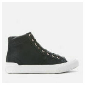 Superdry Women's Premium Pacific High Top Trainers - Black - UK 8