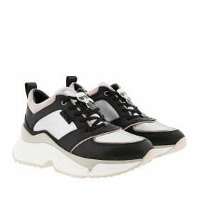 Karl Lagerfeld Sneakers - Aventur Lux Leather Lace Shoes Black/White - black - Sneakers for ladies