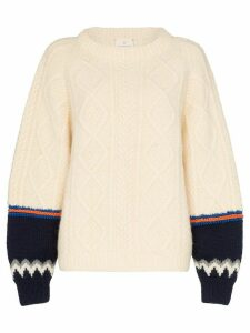 Rentrayage Isle of Skye knit jumper - NEUTRALS