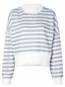 FRAME striped sweatshirt - Blue