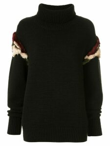 Muller Of Yoshiokubo wool knitted jumper - Black