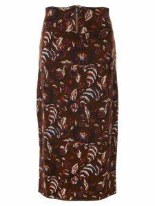 Muller Of Yoshiokubo Flower skirt - Red