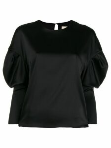 Alexandre Vauthier puff sleeve boxy blouse - Black
