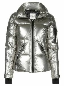 SAM. Freestyle high-neck puffer jacket - SILVER