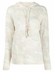 Zadig & Voltaire Nea camouflage patterned hoodie - NEUTRALS