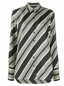 Joseph button-front striped shirt - Black