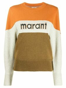 Isabel Marant Étoile striped knit jumper - Yellow