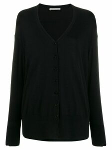 Stefano Mortari loose-fit button-up cardigan - Black