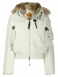 Parajumpers short hooded padded jacket - NEUTRALS