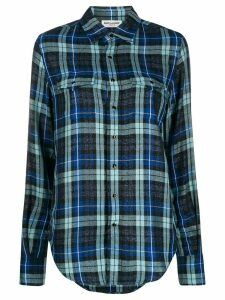 Saint Laurent checked shirt - Blue
