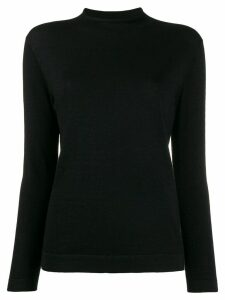 N.Peal glittered fine knit jumper - Black