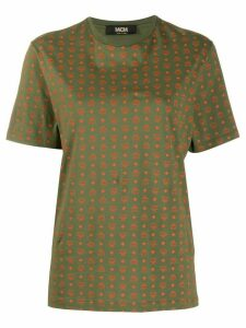 MCM monogram logo print t-shirt - Green