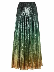 Mary Katrantzou Clement ombré sequined skirt - MULTICOLOURED