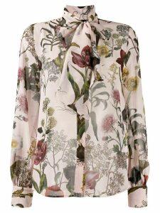 Ermanno Ermanno floral print blouse - PINK
