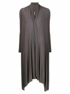 Stefano Mortari asymmetric knit cardigan - Grey
