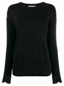 Stefano Mortari loose-fit knit jumper - Black