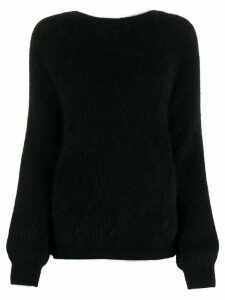 Semicouture knot-detail jumper - Black