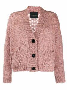 Roberto Collina v-neck cardigan - Pink