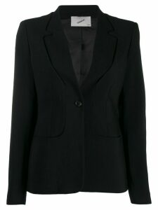 Coperni fitted buttoned blazer - Black