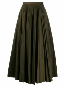 Katharine Hamnett London Ray pleated long skirt - Green