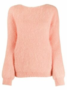 Semicouture knot-detail jumper - Pink
