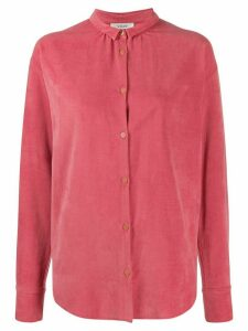 Forte Forte miniature-collar buttoned shirt - PINK