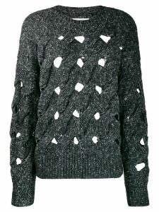 Isabel Marant Étoile Sesley open-knit jumper - Grey
