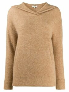 Vince knitted hoodie - NEUTRALS