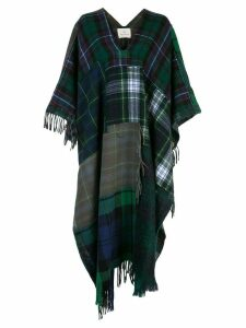 Rentrayage Technicolor Dream poncho - Green