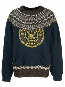 Rentrayage The Outlaw King jumper - Blue