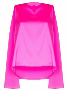Bernadette Judy cape-effect top - PINK