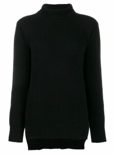 Avant Toi roll-neck knitted jumper - Black