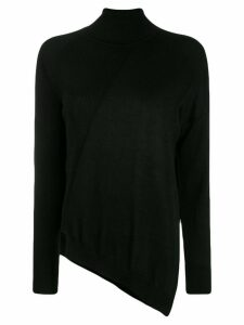P.A.R.O.S.H. turtleneck knittted jumper - Black