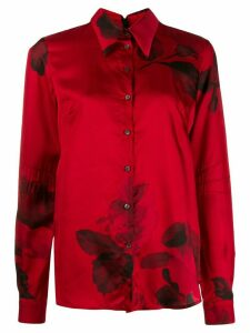 Nº21 floral shirt - Red