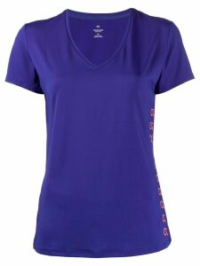 Calvin Klein fitted v-neck T-shirt - PURPLE