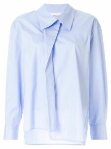 PortsPURE folded placket shirt - Blue