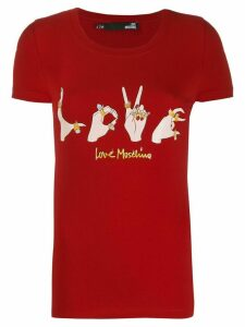 Love Moschino LOVE T-shirt - Red